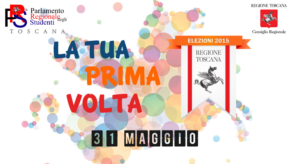 """Elezioni Regionali 2015 – Campagna di sensibilizzazione """"La tua prima volta"""""""
